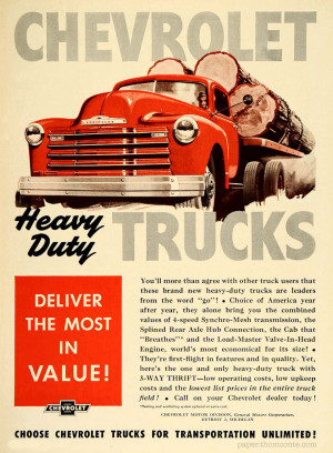 Chevrolet Heavy Duty Trucks
