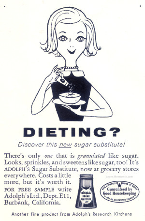 Dieting? Sugar Substitute.