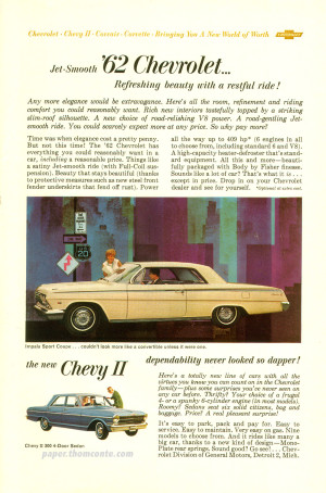 Chevrolet II advertisement