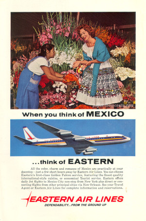 Eastern Airline to Mexico