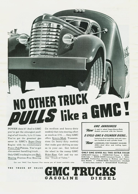 GMC Truck - NO OTHER TRUCK PULLSlike a GMC