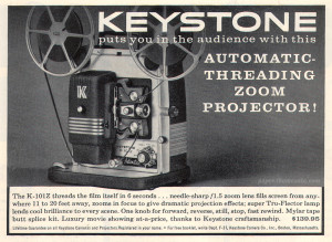 Keystone Zoom Projector