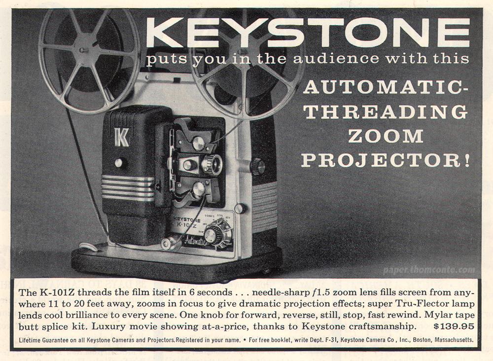 Keystone Zoom Projector