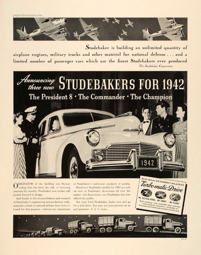 Studebaker - 1942