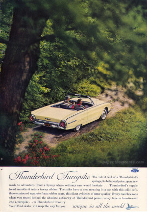 Thunderbird advertisement