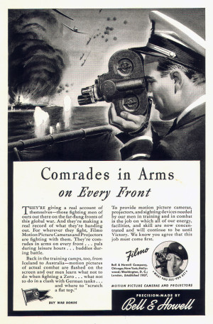 Bell & Howell Company advertisement