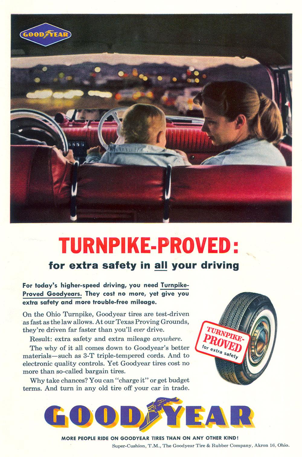 Goodyear tire advertisement