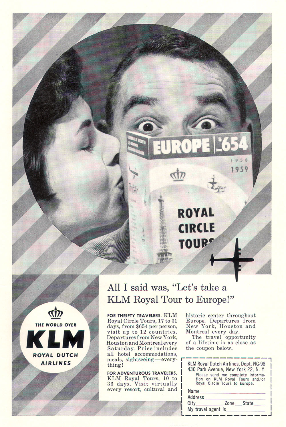 "KLM - All I Said Was, ""Let's take a KLM Royal Tour to Europe!"""