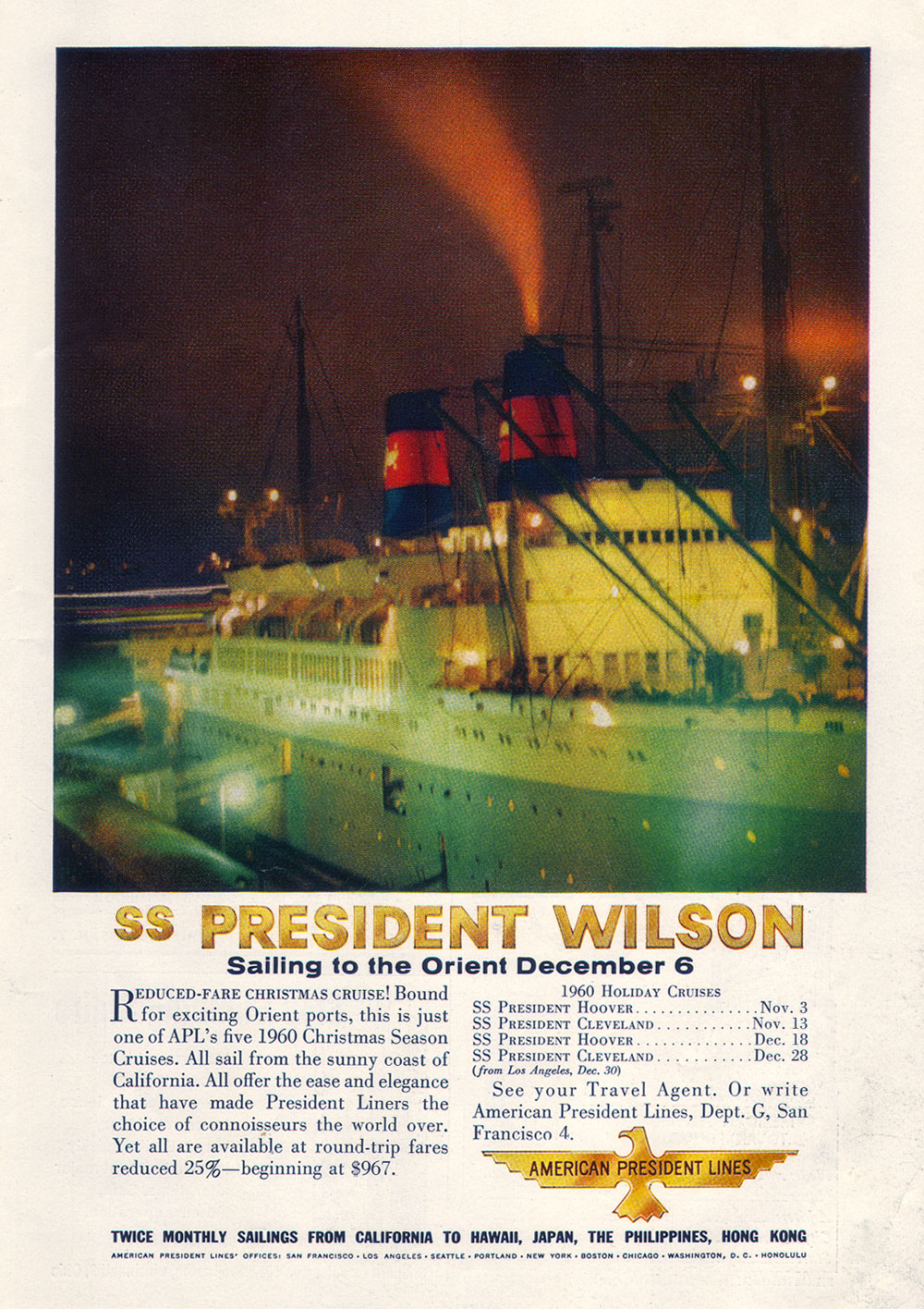 SS President Wilson - American President Lines